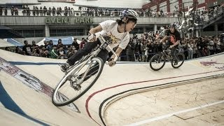 Fixed gear cycling race in South Korea