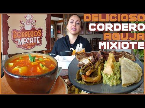 Ixmiquilpan Hidalgo - Mixiotes de cordero y aguja Norteña