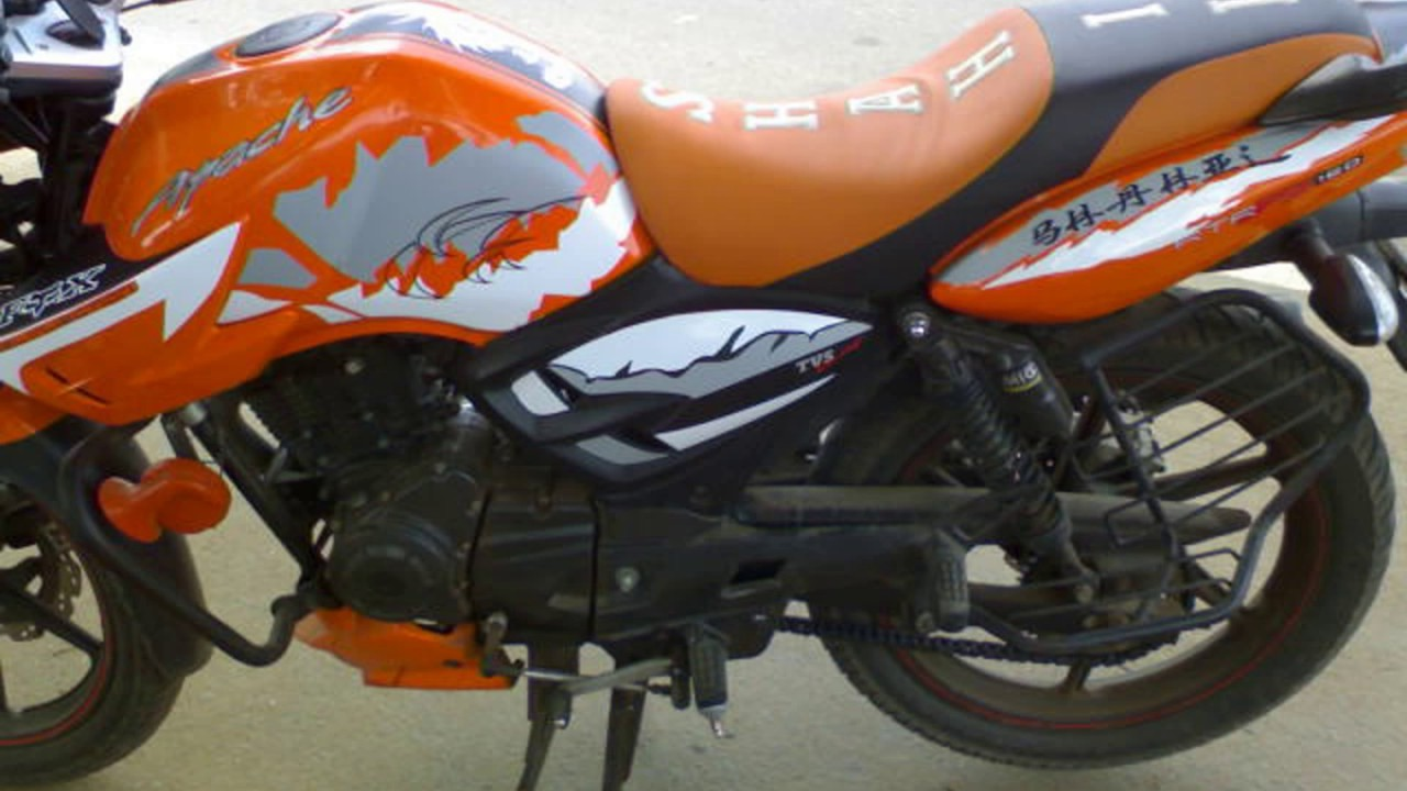 Tvs Apache Stickering Designs