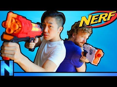NERF Hostage Game - Rainbow 6 style