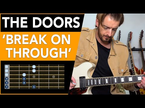 The Doors – 'Break On Through' Guitar Lesson Tutorial // how to play