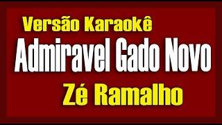 Zé Ramalho e Fagner - Admirável gado novo Karaokê