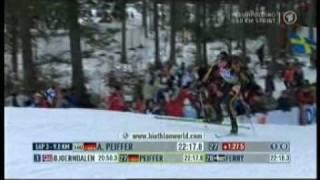 Sprint der Männer in Ruhpolding am 17.01.09 TEIL 8