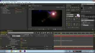 Tutorial Adobe After Effects-Aprendendo a movimentar particulas