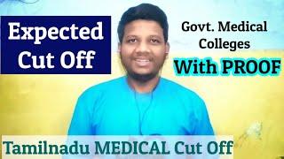 NEET 2020 Cut Off Tamilnadu Govt. Medial Colleges | Rank List, Score | NEET Strategies In Tamil