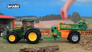 Трактор на ферме. Игрушки Мультики про машинки. Развивающие игрушки для детей