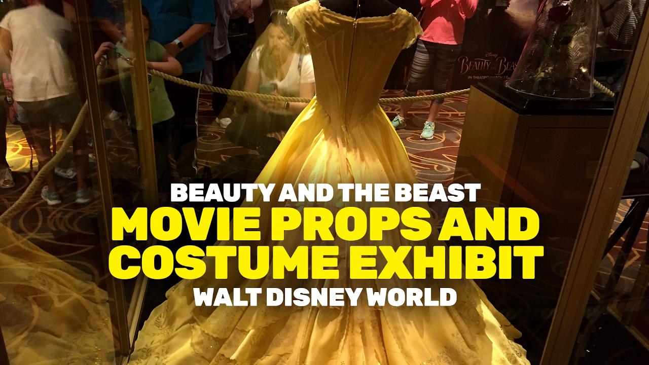 Abiti Da Sposa Walt Disney.Beauty And The Beast Costumes And Movie Props In Walt Disney