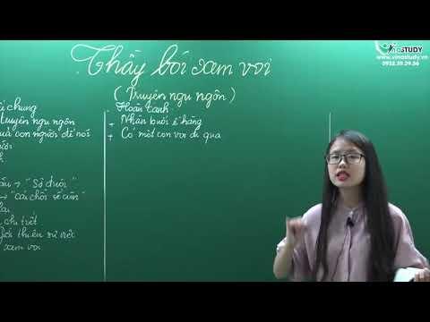 [ Ngữ Văn 6 ] Thầy Bói Xem Voi - Cô Thiên Hương - Liên Hệ: 0932.39.39.56