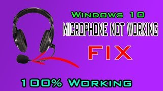 How to Fix Microphone in Windows 10 (Tutorial) [CSGO, FORTNITE, BF1]