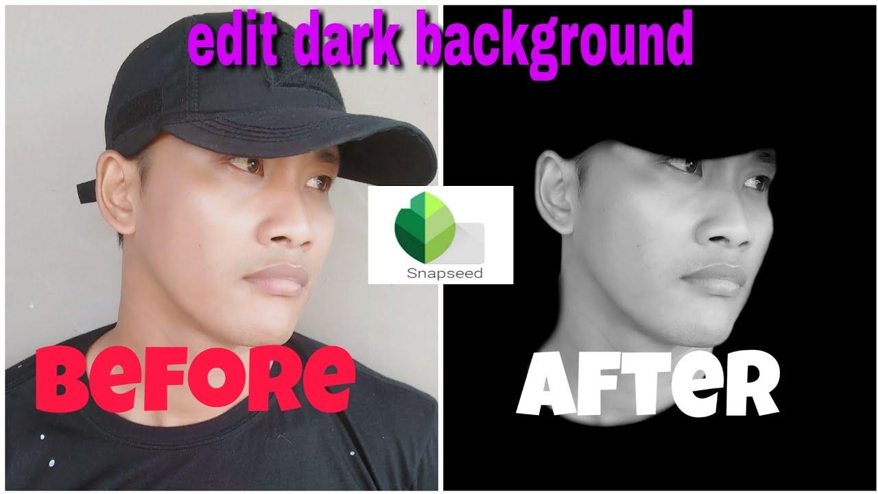 cara edit Foto dark background - YouTube