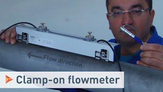 OPTISONIC 6300 P from KROHNE – Portable ultrasonic clamp-on flowmeter