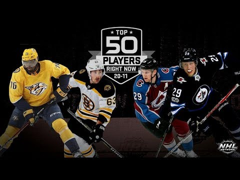 NHL Network Top 50 Players Right Now:  20 - 11   Sep 23,  2018