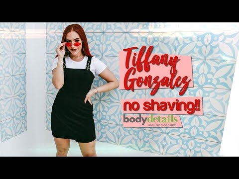 Miami Fashion Blogger Gets Laser Hair Removal | Tiffany Gonzalez | Body Details