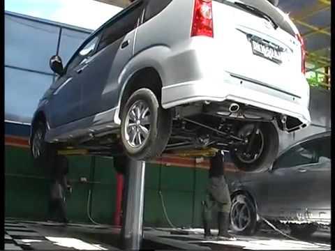 Car Washing Lift Single Post Youtube