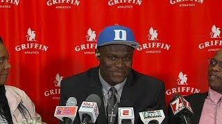 Zion Williamson picks Duke | ESPN