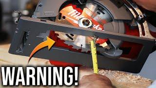 New Milwaukee Tools 7-1/4'' Rear Handle Circular Saw **WARNING** (PROPER SETUP REQUIRED)