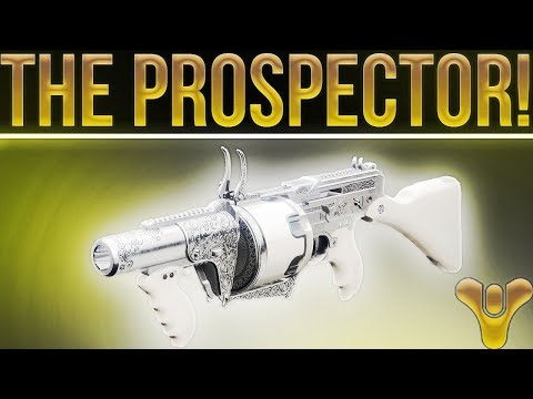 Destiny 2. The Prospector Exotic Grenade Launcher. (If It Only Had One Thing.....)