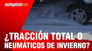 ¿Tracción total (4x4) o neumáticos de invierno?
