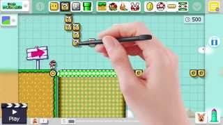 Super Mario Maker - Course Maker (Direct Feed)