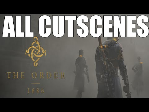 The Order 1886 Story All Cutscenes Movie (The Order: 1886 Game Movie) 1080p HD