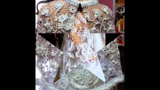 ирландское кружево свадебная накидка