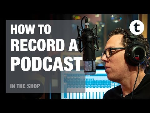 What do I need for my first podcast?   In the Shop Episode #20   Thomann