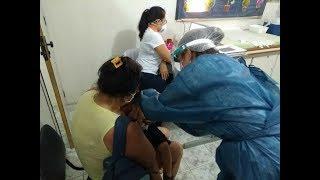 Campanha Nacional de Vacinação-Enfermeira Concy Oliveira fala sobre o atendimento no PSF Brotolân