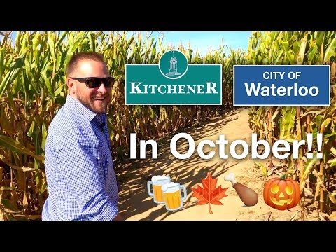 Kitchener Ontario in October! 🍗🍻🎃🍁