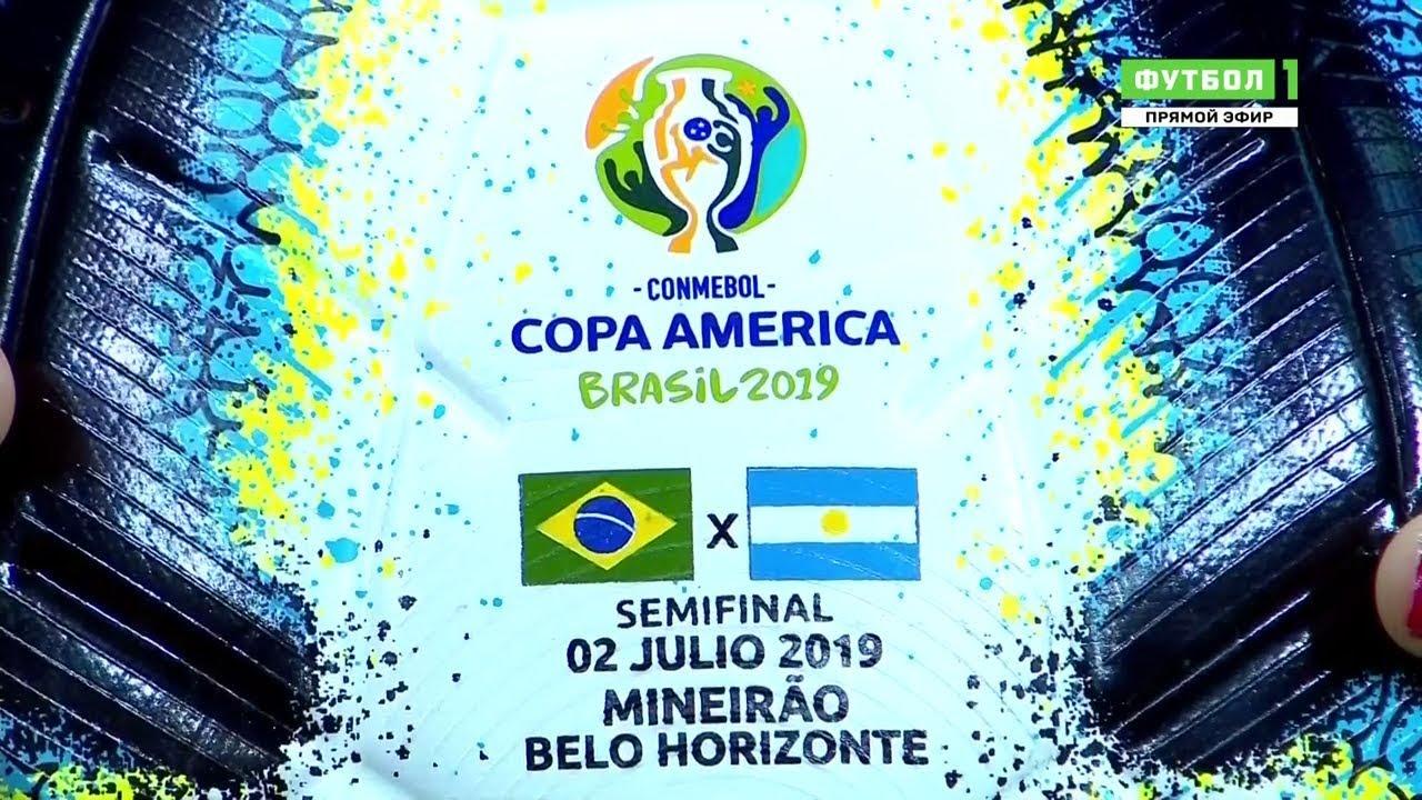 Download Full Match - Brazil vs Argentina HDTVRIP 720p Copa América (02/07/2019, RUS)