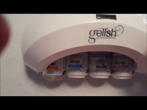 How to do gel polish nails at home - gelish