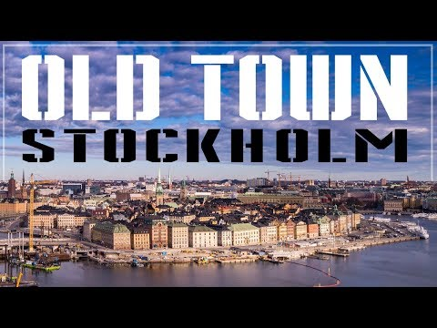 Old Town Stockholm || GAMLA STAN 2018