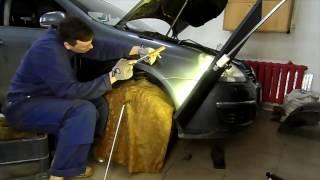 PDR Ремонт автомобиля - удаление вмятин