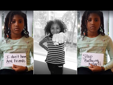 Girl, 9, Posts Heartbreaking Video to Raise Awareness About Bullying
