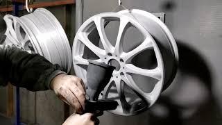 Порошковая покраска дисков RAYS cмотреть видео онлайн бесплатно в высоком качестве - HDVIDEO