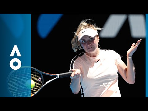 Marta Kostyuk v Elina Svitolina match highlights (3R)   Australian Open 2018