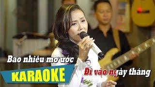 [KARAOKE] Cánh Thiệp Đầu Xuân - Đan Phượng | Nhạc Xuân Karaoke Beat