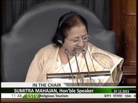 LS Speech on Hyderabad as a Religious Tourism Hub