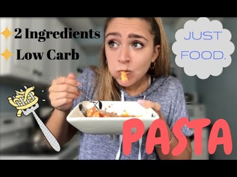 Low Carb Pasta Made With Just TWO INGREDIENTS! - JUST FOOD, Ep. 16