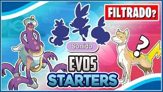 🔥 *FILTRADAS* EVOLUCIONES de los STARTERS? - Nuevo TIPO en Pokémon Espada y Escudo? ⚔️🛡️ (Teoria)