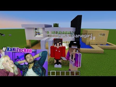 NINAS FERIEN HAUS vs KAANS FERIEN VILLA! Wir brauchen Urlaub -  Minecraft Build Battle #KaNiZocken