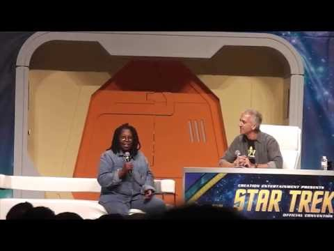 Whoopi Goldberg at the 2016 Star Trek Convention