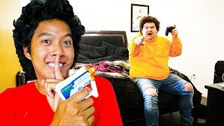 10 Ways To Annoy Your Roommate With A Nerf Gun!