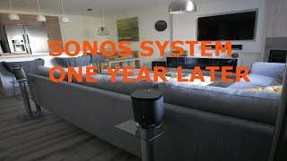 SONOS  Play 1, Playbar and SUB Review - 1 Year Later...