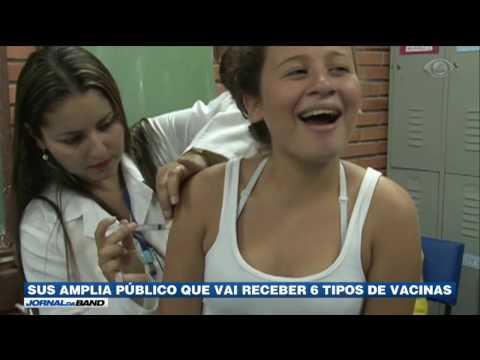 Ministério da Saúde amplia público de vacinas no SUS
