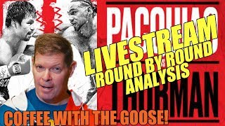PACQUIAO vs THURMAN: Ultimate Vid Reaction - Round by Round Analysis
