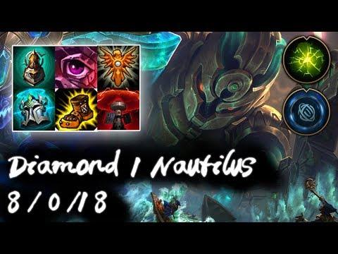 Diamond 1 Nautilus Support vs Karma | Korea High Elo