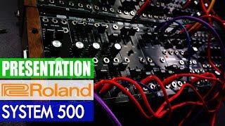 Presentation: New Roland System 500 Eurorack Modules