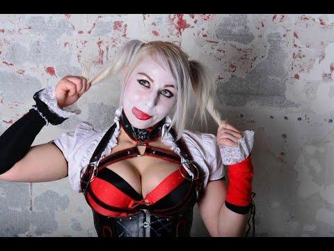 Harley Quinn SLC 2015 Arkham Knight Cosplay