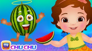 Watermelon Song (SINGLE)   Learn Fruits for Kids   Educational Songs & Nursery Rhymes   ChuChu TV