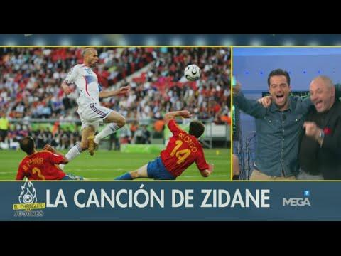 ¡MOMENTAZO! Escuchamos la canción de Zinedine Zidane